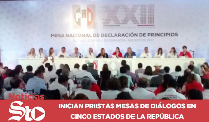 Inicia la Asamblea Nacional XXII del PRI