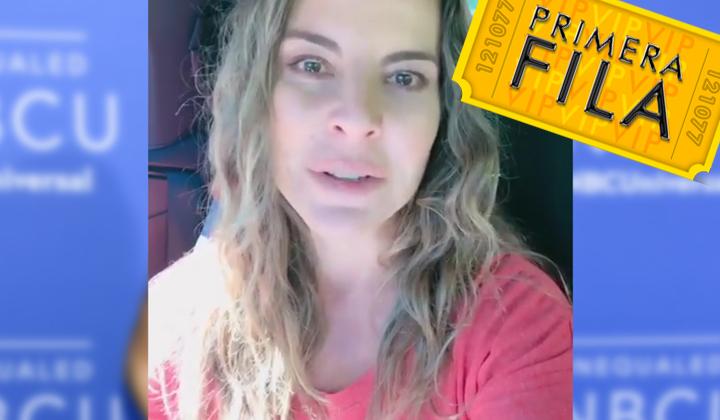 Al borde del llanto, Kate Del Castillo pide ayuda para México