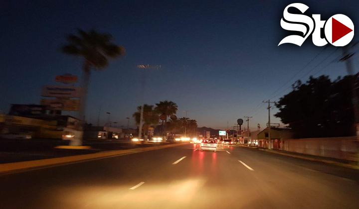 Dejan sin luz a cuatro estados de México