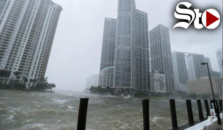 El caos del huracán Irma en Miami