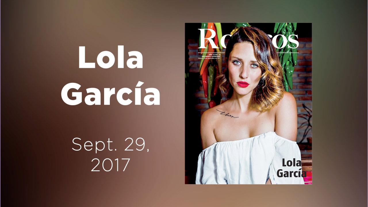 En la galería de Rostros te presentamos a Lola García