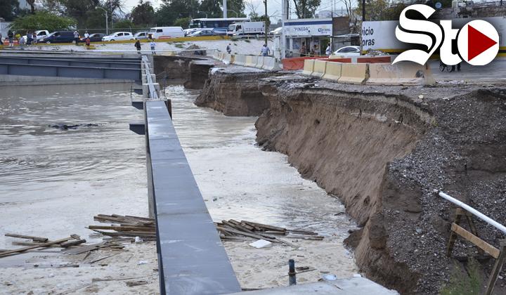 Vecinos viven momentos de angustia por inundaciones