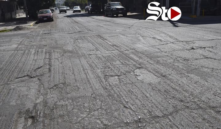 No se cumplieron las expectativas de pavimentación en Torreón