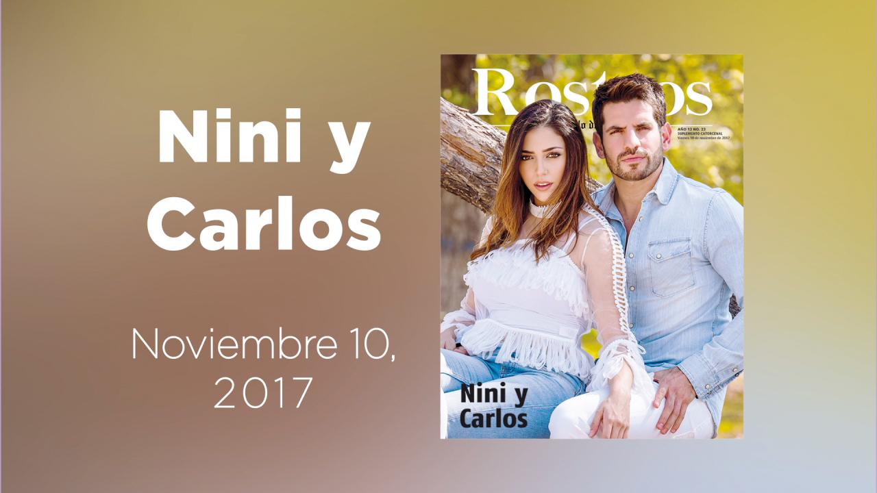 Conoce a Nini y Carlos la galería animada de Rostros