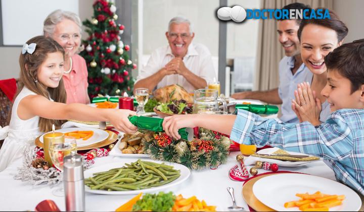 Cuida tu alimentación en tempradas navideñas
