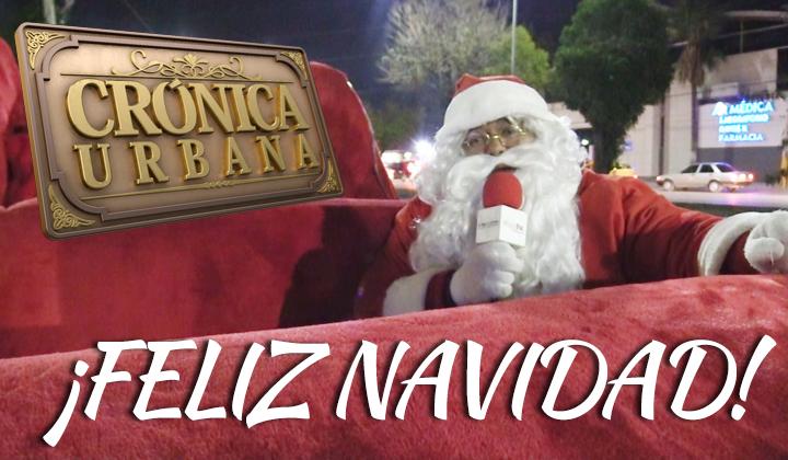 Santa Claus lagunero te desea una ¡Feliz Navidad!