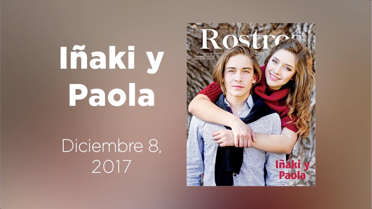 Conoce a Iñaki y Paola en la galería animad de Rostros