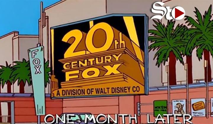 Cuando los Simpsons predijeron que Disney compraría Fox