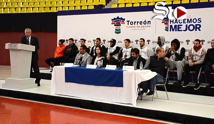 Torreón será sede de un equipo profesional de basquetbol