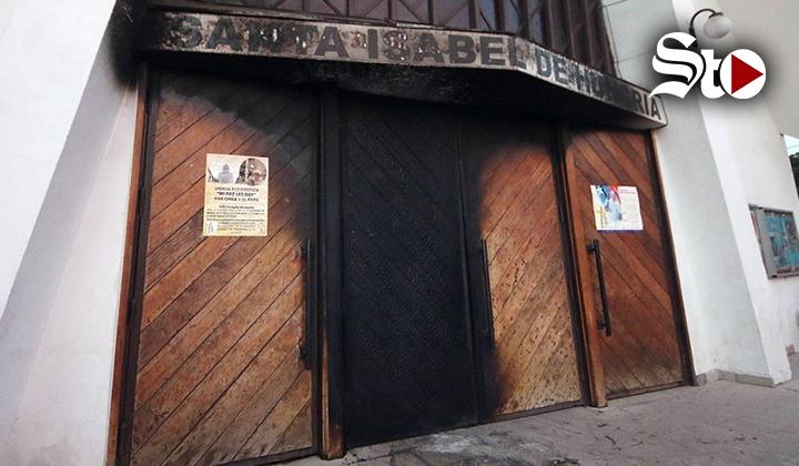 Ataques contra cuatro iglesias en Chile