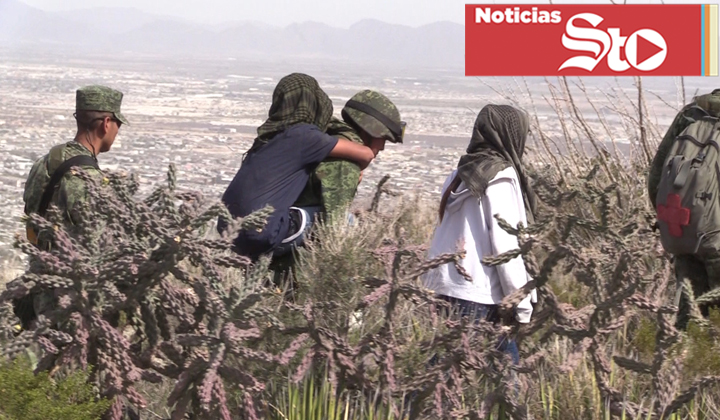 Tres jóvenes se pierden en el Cañón del Indio en Torreón