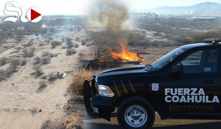 Fiscalía de Coahuila desaloja a invasores de Mieleras