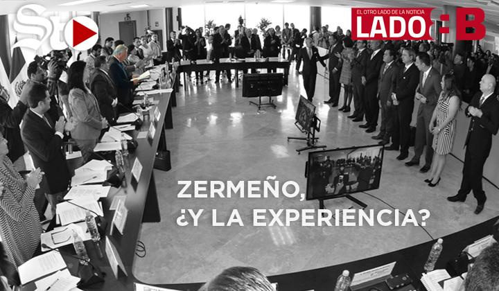 ¿Dónde quedó la experiencia de Zermeño?