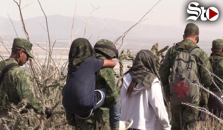 Tres menores se extraviaron en el Cañón del Indio