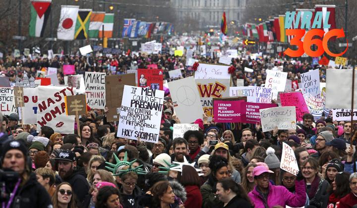 'Marchas de las Mujeres' vuelven a tomar las calles