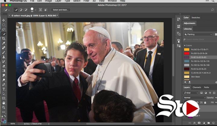 El corazón no se puede 'photoshopear': Papa Francisco