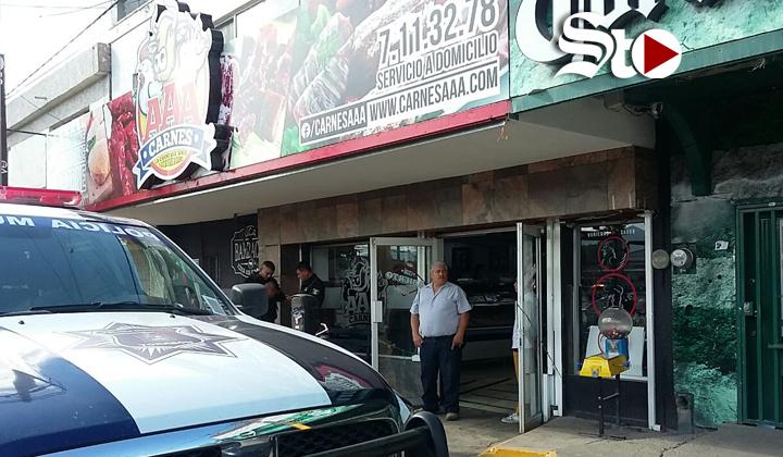 Asaltan carnicería en bulevar Independencia de Torreón