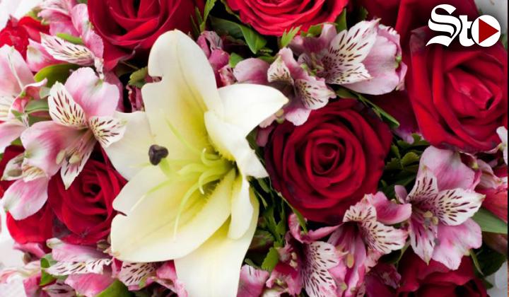 Flores, el regalo perfecto para el Día de San Valentín en México