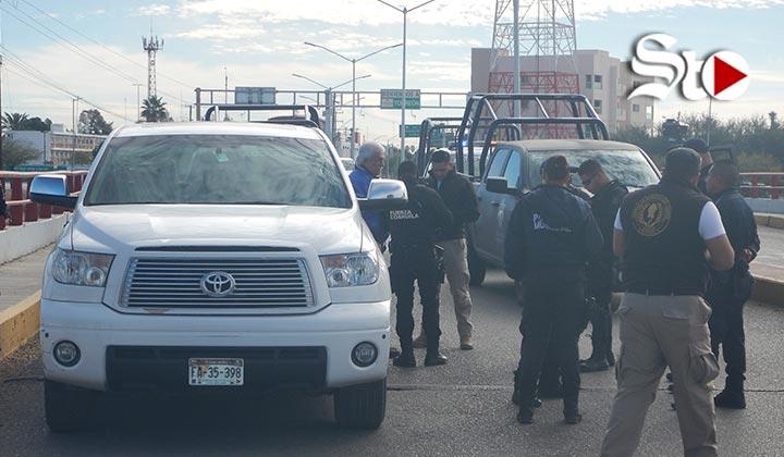 Roban camioneta en Torreón; la recuperan minutos más tarde