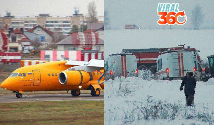 Se estrella en Rusia un avión con 71 personas a bordo