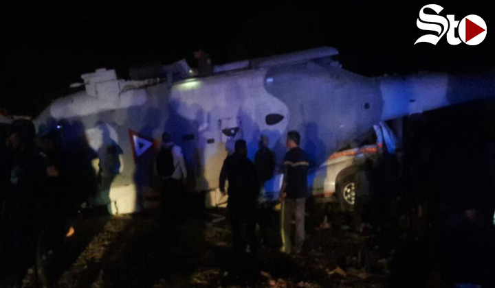 Suman 13 muertos por accidente de helicóptero