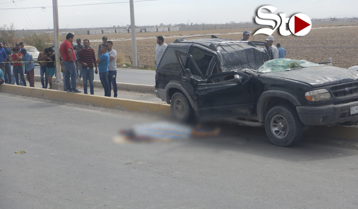 Una mujer falleció y dos hombres resultaron heridos en accidente