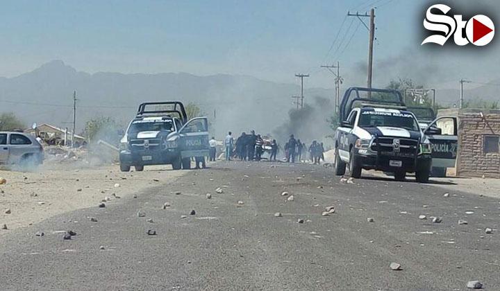 Enfrentamientos tras protesta reportan saldo de 21 heridos