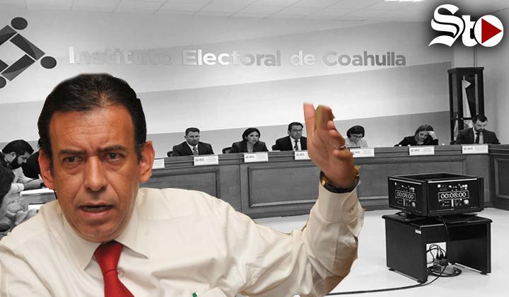 IEC trunca la creación de partido político del hijo de HMV