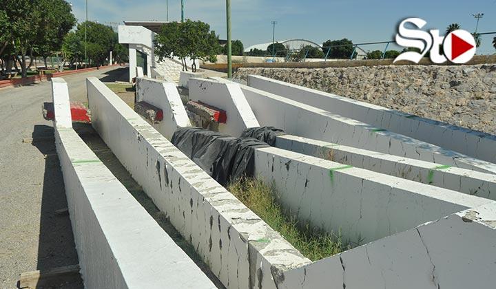Monumento Torreón en el olvido