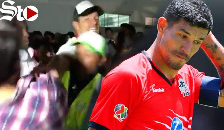 'Maza' Rodríguez agrade a aficionado que lo insultó