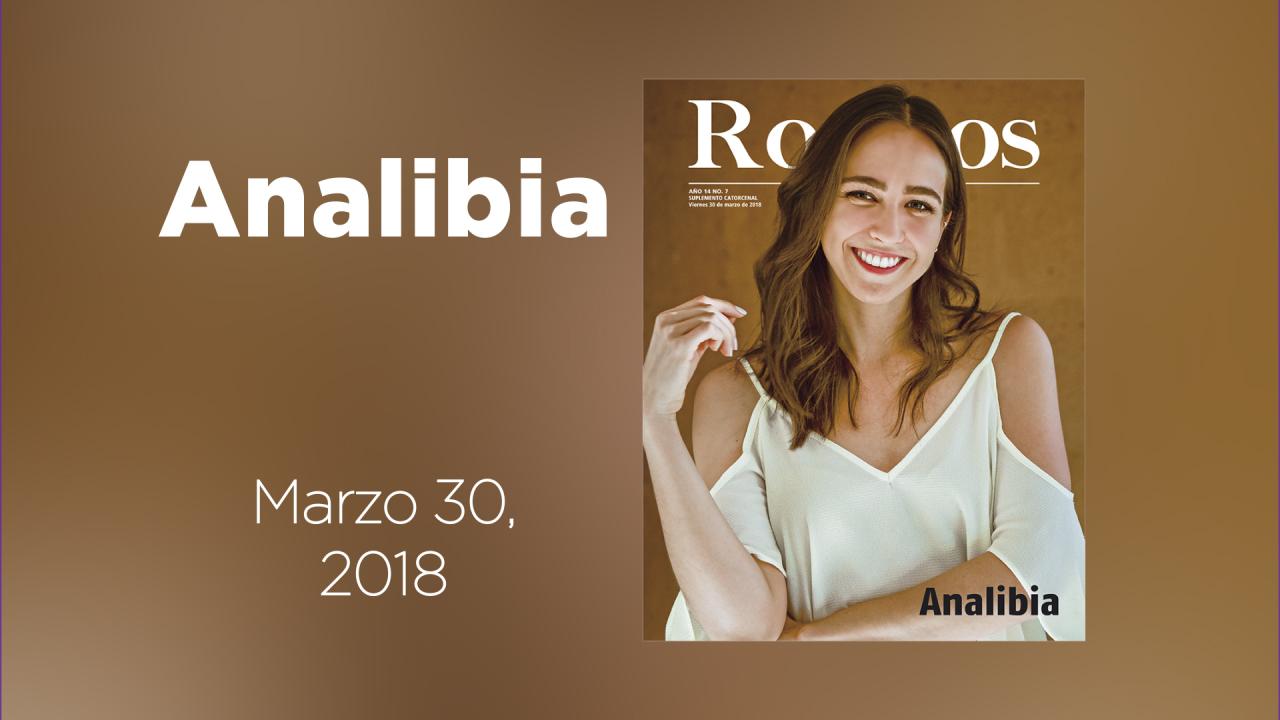 Te presentamos a Analibia en nuestra galería animada de Rostros