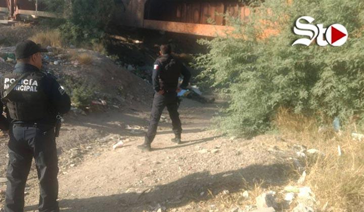 Hallan un cadáver bajo 'Puente Negro'