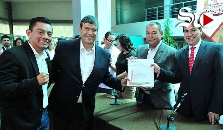Cristian Mijares entra a la contienda electoral