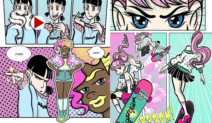 'Teen Trans' es el primer historieta transgénero