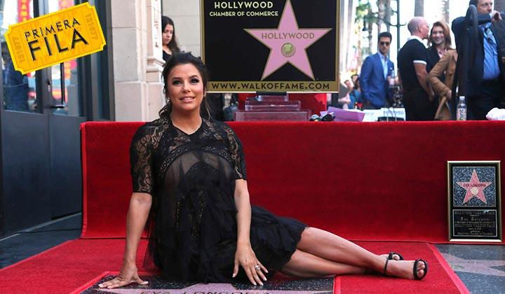 Eva Longoria recibe estrella en Hollywood