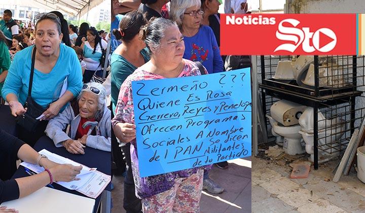 Día de protestas y reclamos en Torreón