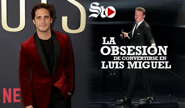La obsesión de Diego Boneta por ser Luis Miguel