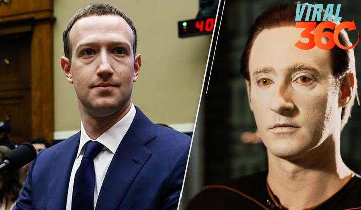 Internet cree que Mark Zuckerberg es un robot