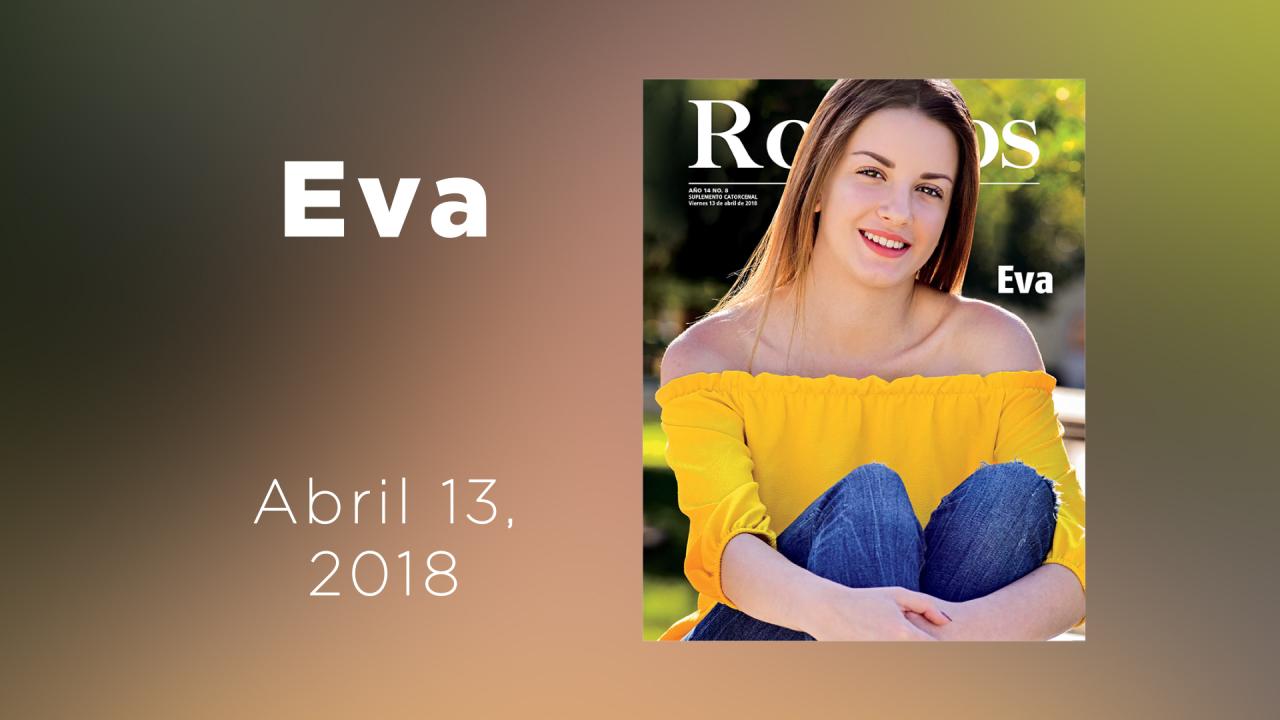 Te presentamos a Eva en la galería animada de Rostros