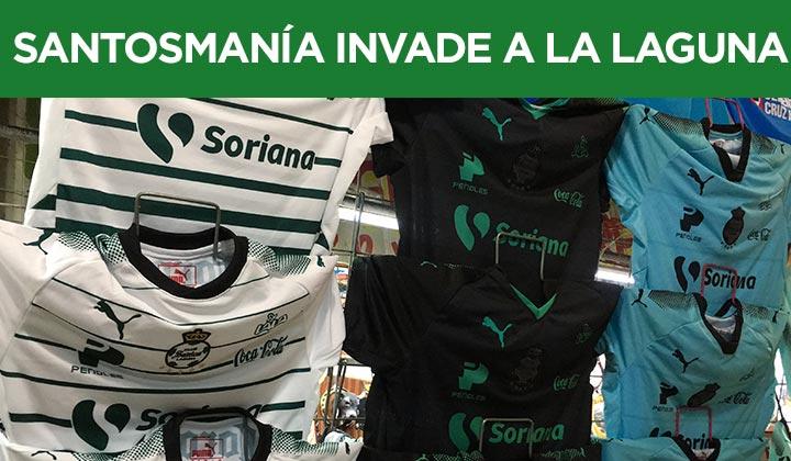 'Santosmanía' invade a La Laguna