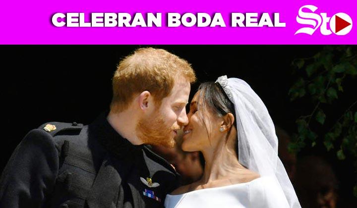 Celebran Boda Real; príncipe Harry y Meghan Markle se dan el 'Sí