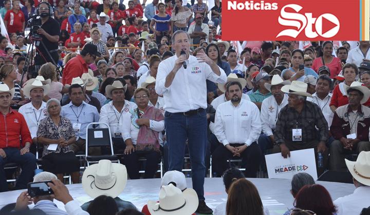 José Antonio Meade realiza su gira por La Laguna