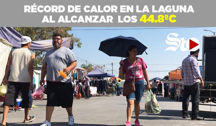 ¡Nuevo récord de calor! Se alcanzan los 44.8ºC en La Laguna