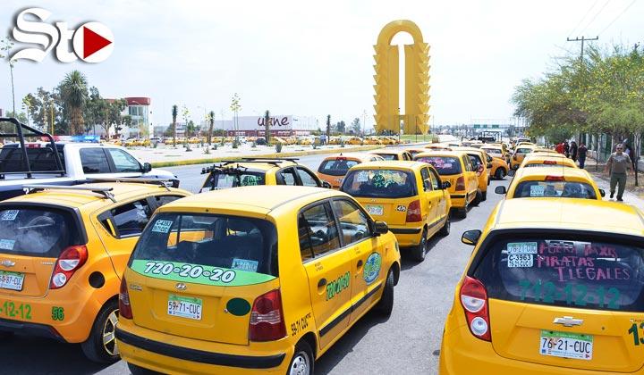 Taxistas exigen operativos contra Uber y piratas