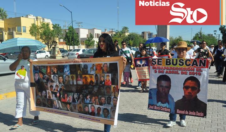 Marchan madres de personas desaparecidas en Torreón
