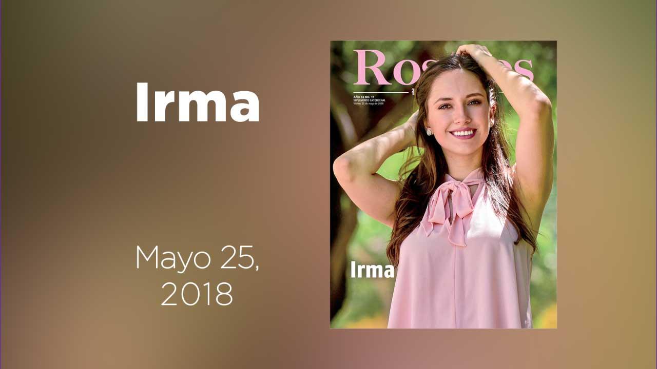 Te presentamos a Irma en nuestra galería animada de Rostros
