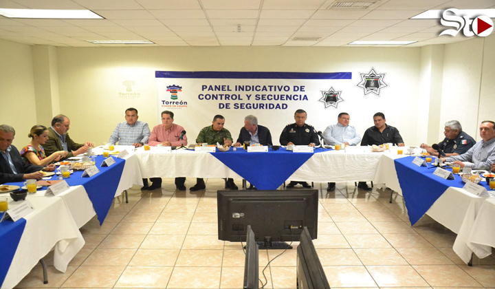 Suspenden reunión de seguridad de Torreón