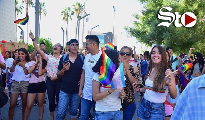 Muestran Orgullo Gay en calles de Torreón