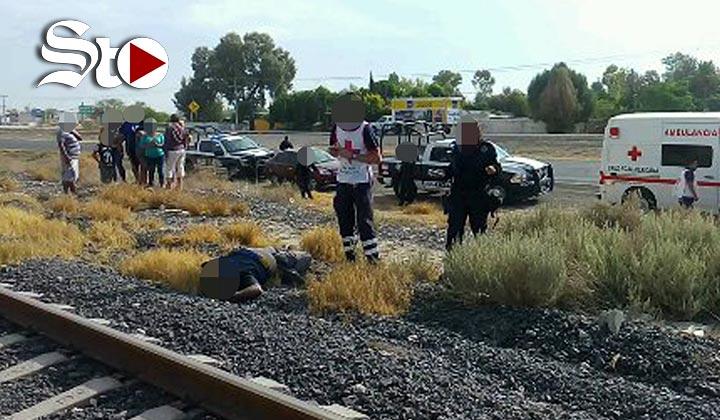 Hallan cadáver a lado de vías del ferrocarril