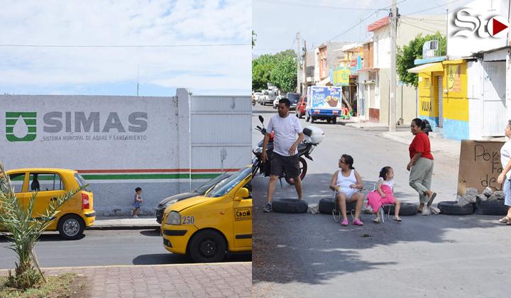 Apagones provocan manifestación en Torreón